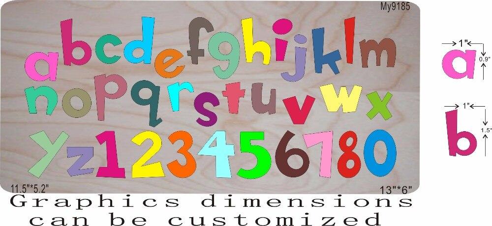 Troquelado de letras y troqueles de madera se adaptan a mi cuadrado-in Troqueles from Hogar y Mascotas    1