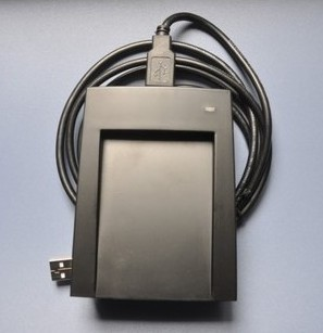 13.56 MHz USB IC card reader writer Mifare S50,Mifare S70  with ISO1443 type