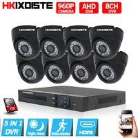 HD 960P 8PCS 1 3MP AHD Camera CCTV Home Security Camera System 8CH AHD 1080P HDMI
