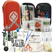 Outdoor survival tools, private custom wild kits, according to your needs, prepare a complete set - box