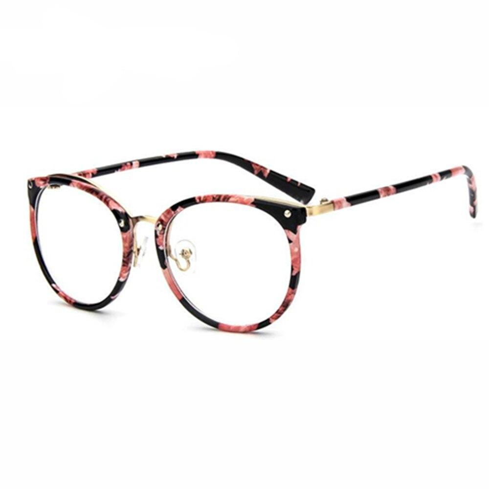 Desain merek Kacamata Frame kacamata bingkai untuk Wanita Pria Kacamata  Kacamata Polos bingkai tontonan Laki- b72484a421