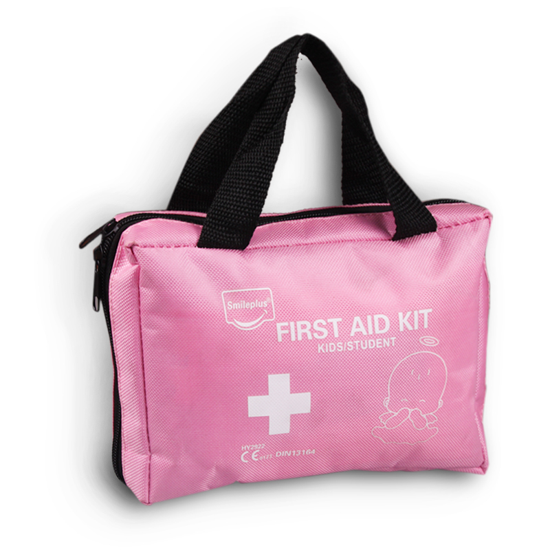 Pink child first aid bag carry baby emergency bag 88.3