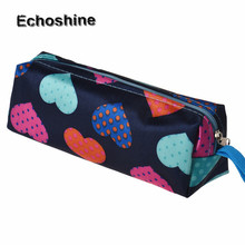 2016 hot sale many color Heart Square Multicolor Cosmetic Bag  Cute Color Multi-Function Cosmetic Bag free shipping & wholesale