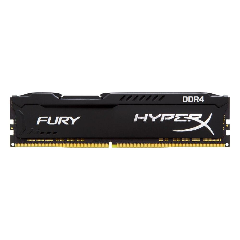 Image 3 - Kingston HyperX RAM DDR4 4GB 8G 2400MHz 16G=2PCSX8G CL15 1.2V 288pin Desktop Memory ram for gamingRAMs   -