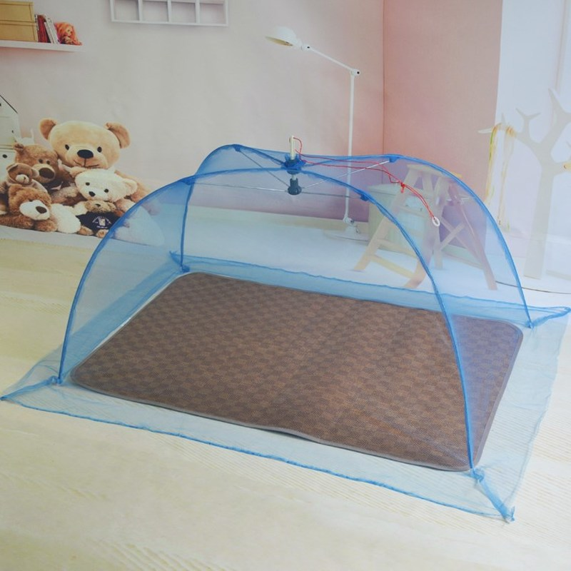 0.9m Free Installation Baby Crib Mosquito Netting Sleep Bed Multifunction Baby Crib Foldable Mosquito Sheild Cover With Bracket
