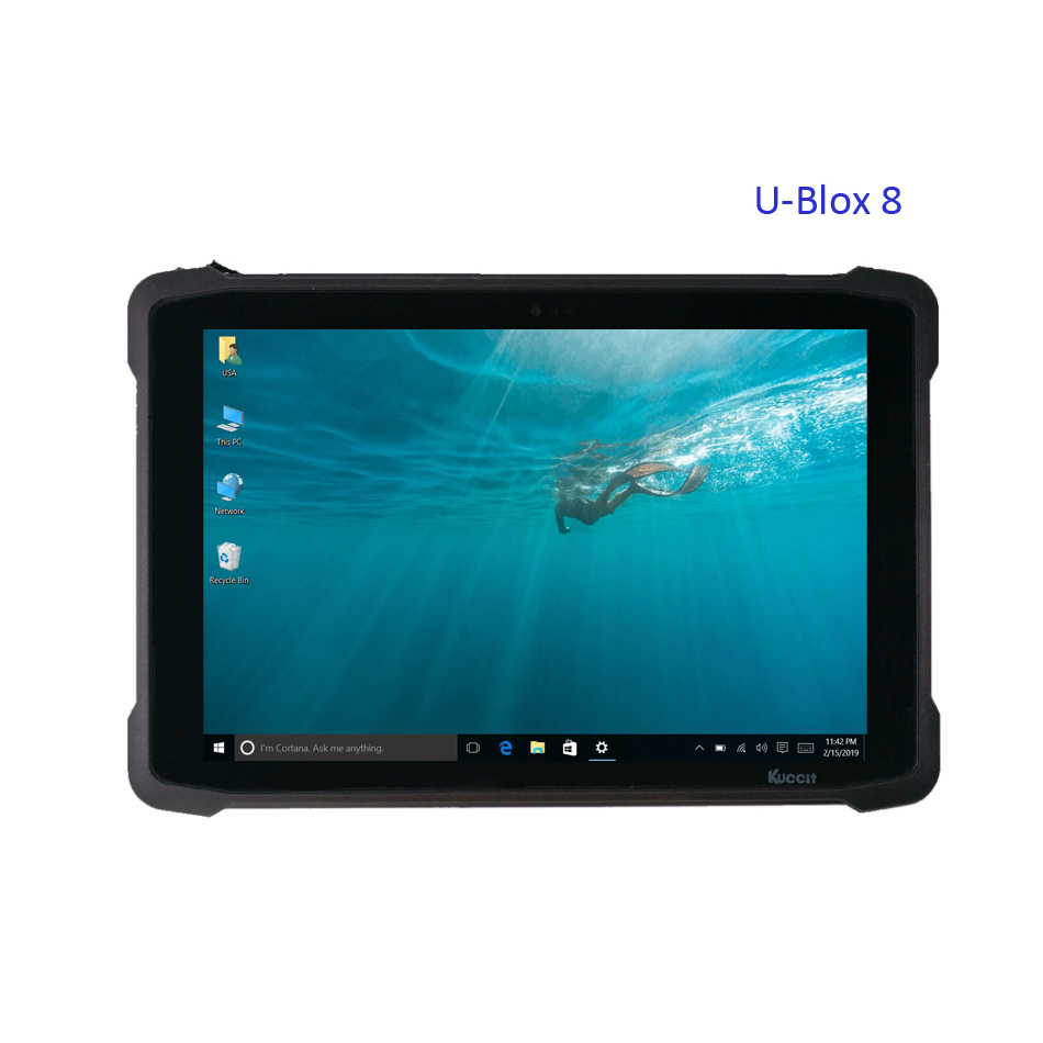 2019 Original Mobile Windows 10 Tablet PC Phone UBlox M8 GPS GNSS Mapping High Precision Glonass Gps Waterproof 3G HDMI WIFI image