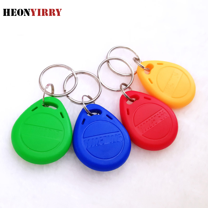 10pcs RFID Tag Key Fobs NFC Tag RFID Card For Access Control System RFID Key Tags Access Control Card