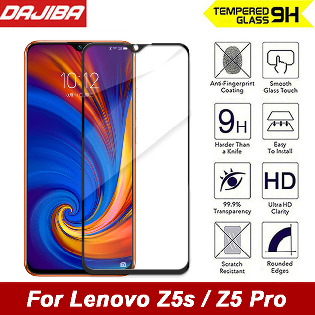 9H Full Cover Protective Tempered Glass For Lenovo Z5s Z5 Pro Explosion-proof Screen Protectors Film For Lenovo Z5 Pro Z5s Glass