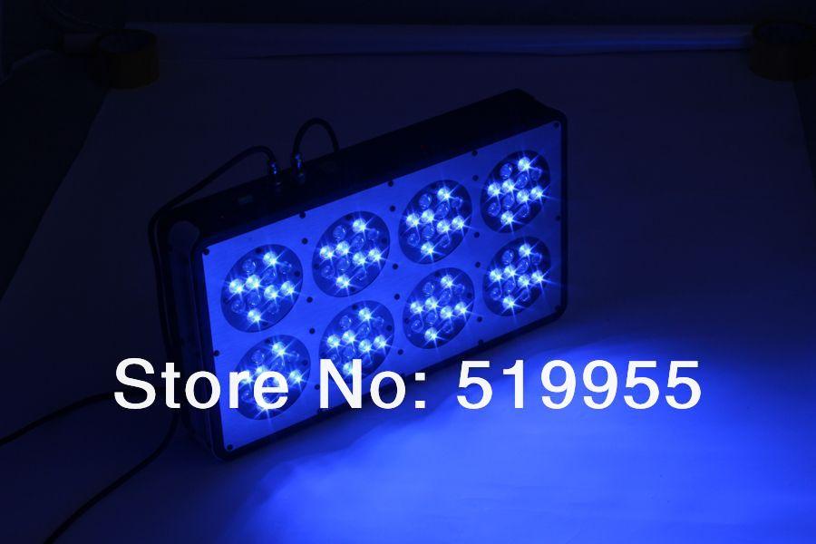 Купить с кэшбэком Apollo 8 96*3W LED aquarium light White: Blue=1:1 full spectrum reef coral tank light, White 12000k &Blue 460nm (Customizable)