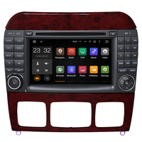 7 Android 7.1 Capacivite Touch Screen 2 DIN Car DVD Player for Benz S Class W220 S280 S320 S350 S400 S420 S430 GPS Stereo Radio