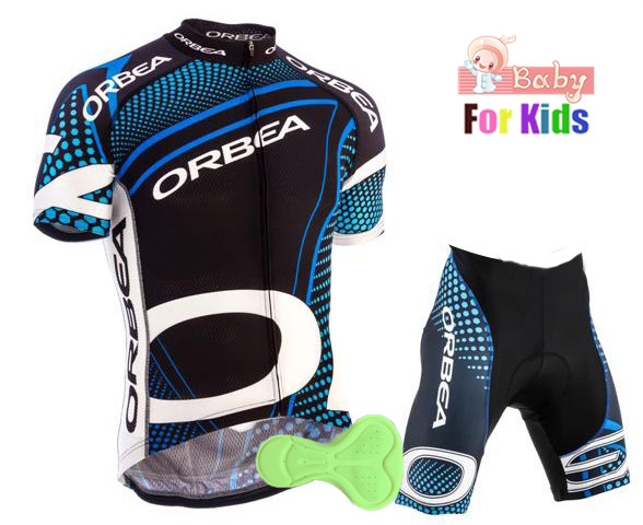 8797af089 2018 Orbea Team Boys Cycling Jersey Set Ropa Ciclismo Cycling Kit for Kids  Breathable Quick Dry Bicycle Clothing Children Girl - aliexpress.com -  imall.com