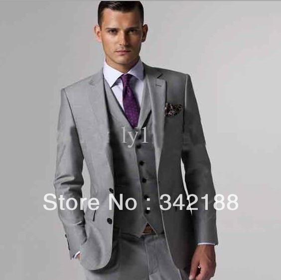 The latest men's jacket design full Western style wedding groom ...