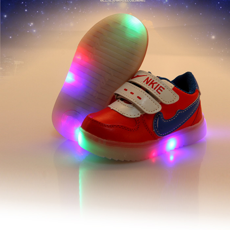 chaussure led enfant kids light up shoes flashing for Children shoes with light  led shoes toddler Boy glowing sneaker luminous 586520b3e