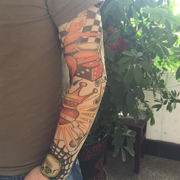 Best arm sleeve tattoos promotion shop for promotional for New tattoo sunscreen