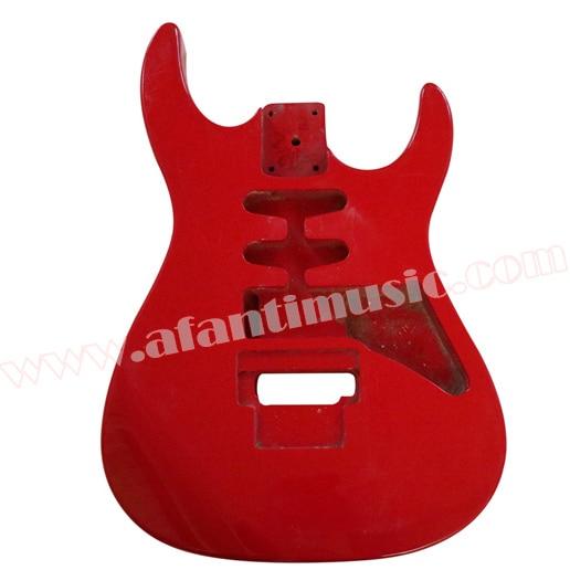 Afanti Music DIY guitar DIY Electric guitar body (ADK-081) afanti music diy guitar diy electric guitar body adk 060