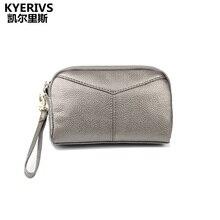 2017 Элитный бренд женские Бумажники Разделение кожаный бумажник женщины сцепления кошелек на молнии клатч модные Портмоне кошелек женский