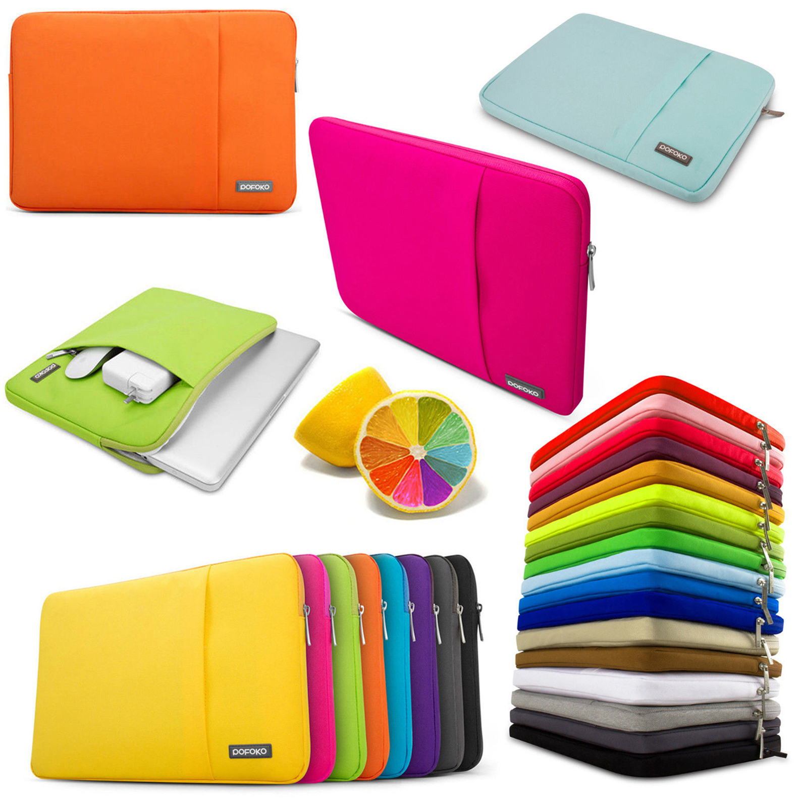 """13 15 15.4"""" inch 15.6"""" 16"""" Notebook Laptop Sleeve Bag Case Cover carry pouch Skins For HP DELL Toshiba ASUS Sony Acer Lenovo IBM"""