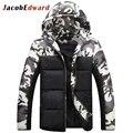 Brand Korean Man Fashion Warm Parkas Size M-4XL amouflage Patchwork Design Cotton-Padded Style Young Men Winter Jackets
