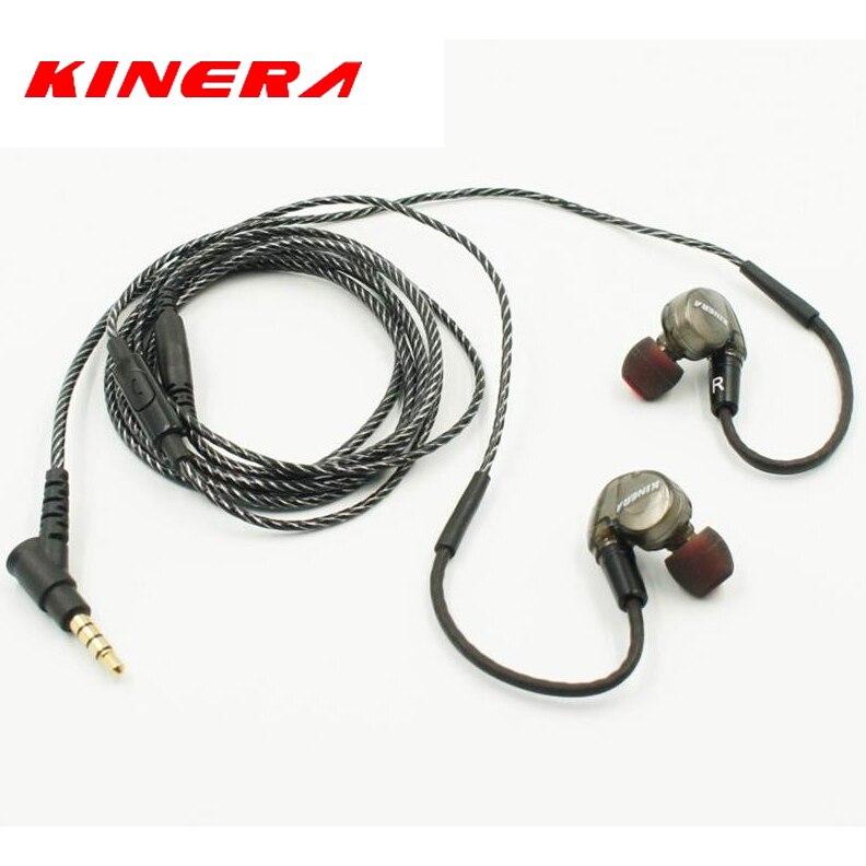 Original Kinera BD005 In Ear Earphone Monitor Dynamic with 1 BA Hybrid Headset HIFI DIY Ear Buds Microphone PK SE215 SE535 diy se535 earphone