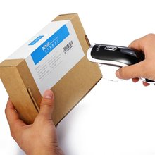 Mini 2.4G Wireless Bluetooth Handheld 2D / QR Barcode Scanner Bar Code Reader For Mobile Payment Grating Type Black wireless long distance red light ccd bar code reader mobile payment computer screen scanner handheld bar code scanner