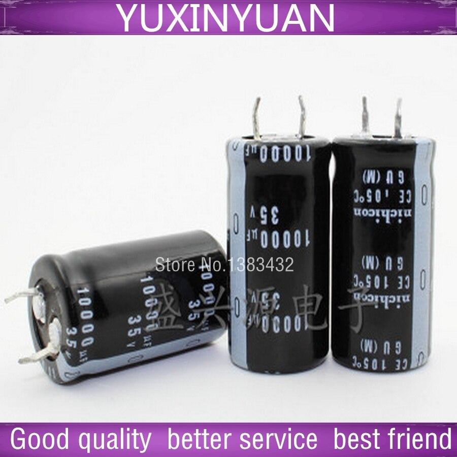 2 PCS/lot motherboard aluminium electrolytic capacitors 10000 uf / 35 v 22 x40mm into 22 * 40 mm AliExpress aliexpress v