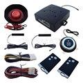 Chave inteligente Sistema de Alarme de Carro PKE Com Push Start Stop Botão de entrada de Keyless Passiva Começo Remoto Do Motor Fechadura Da Porta Automática