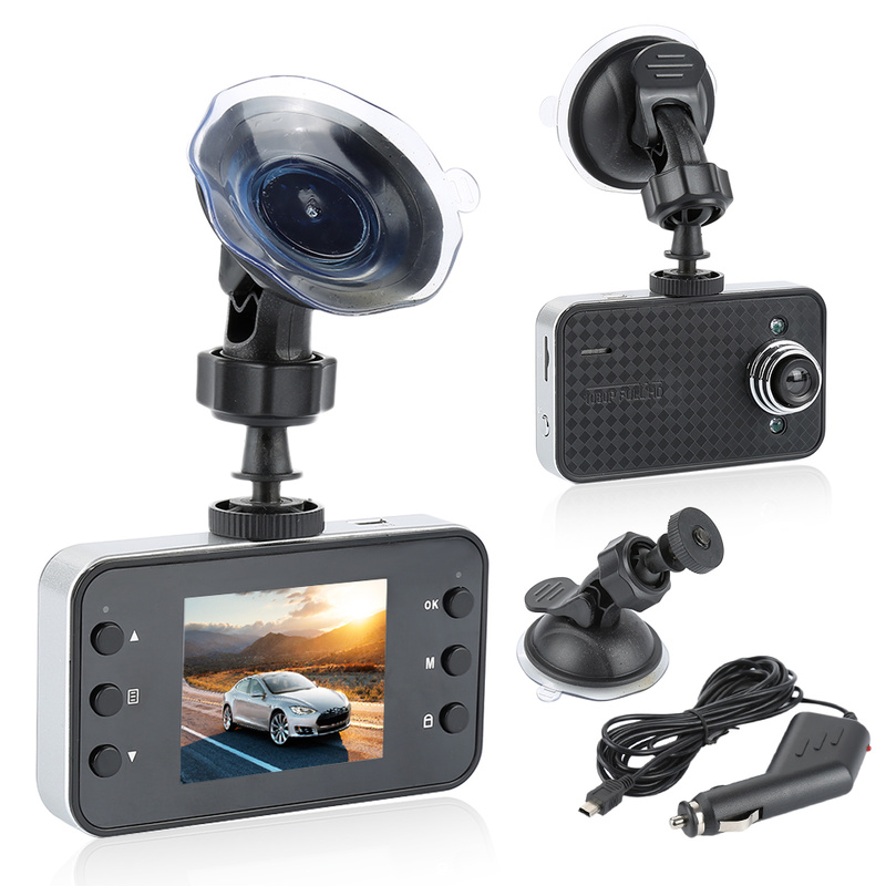 DVR Camcorder-Video-Driving Car-Camera Tachograph Auto Full-Hd 90-Degree 1080P 2