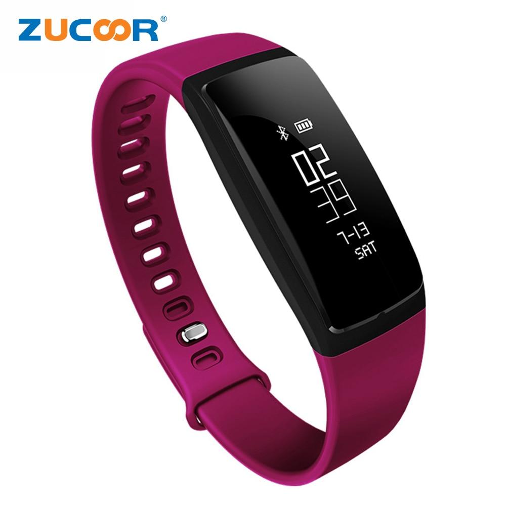 imágenes para Banda de la Muñeca inteligente Esfigmomanómetro Heartrate ZB78 Health Tracker Actividad Deportiva Pulsera Bluetooth Para iOS Android Samsung Reloj