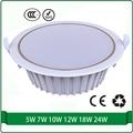 solar power system 12 volt 5W 7W 10W 12W 18W 24W downlight Recessed Ceiling Panel Down Light Bulb Lamp