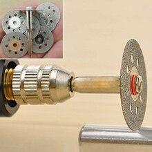 12 шт. роторные инструменты дисковые пилы режущие диски оправка среза резак мощность многофункциональный складывающийся набор инструментов 22 мм/3 мм