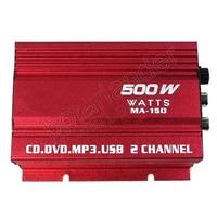 2015 New 12V Mini Car Kinter HI FI Digital MA 150 USB FM Digital Power Amplifier