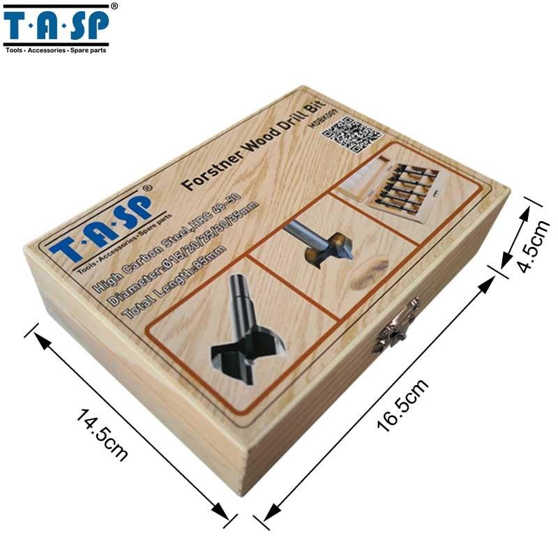 TASP 5 buc Bucsa de foraj pentru lemn Forstner pentru prelucrarea - Burghiu - Fotografie 6