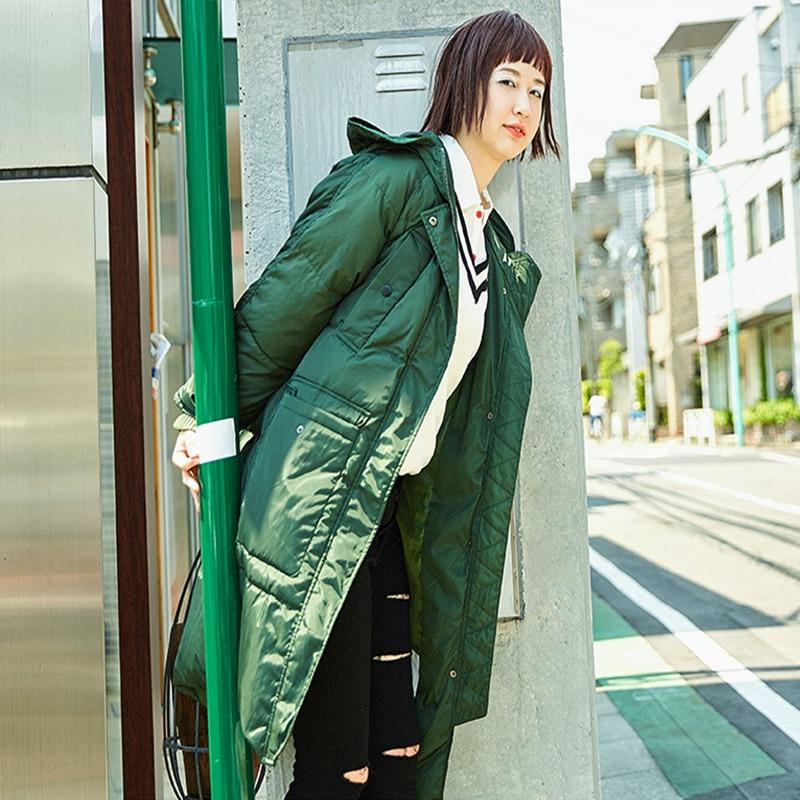 Army Taille Mode Hiver Plus La Veste Femelle Style Wuj0593 Européen 80 Blanc Haute Duvet Manteau De 2018 Canard Long Green black Lâche Qualité Femmes Parka qBvxn8P