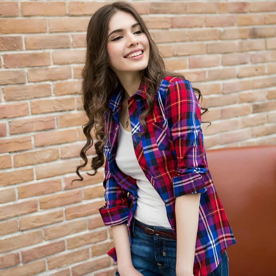 Livraison gratuite taille S-3XL 2019 automne poncé à manches - Vêtements pour femmes - Photo 2