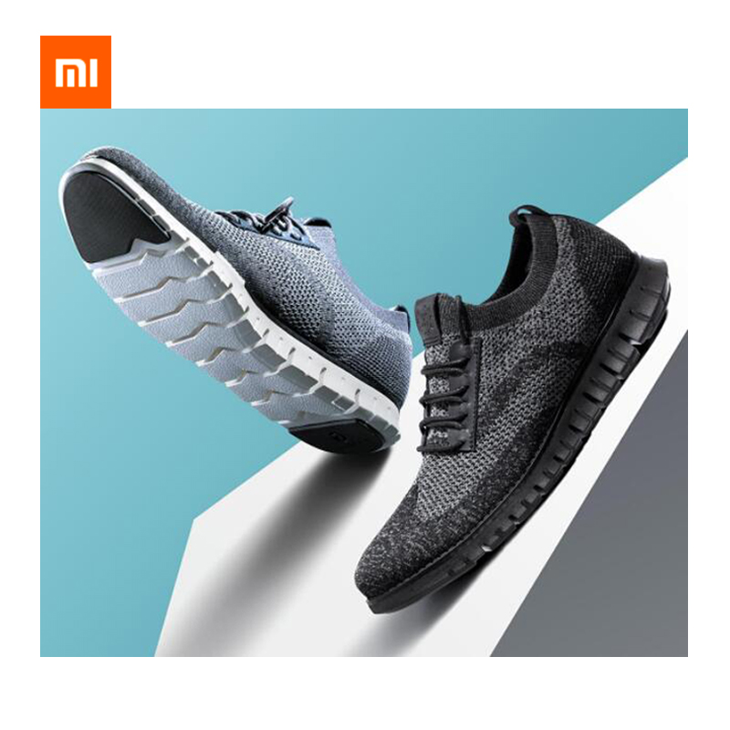 Xiaomi Coollinght Series Sports Shoes Business Men's Soft Bottom Light Fashion Shoes Brock Casual Shoes Men Sports Shoes Smart