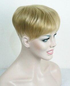 Image 1 - יופי חזקות נשירת שיער פיאות שיער סינטטי פאת פאה פאות למעלה חתיכה 36 צבעים לבחירה