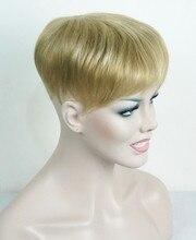Güçlü Güzellik Peruk Peruk Sentetik Saç Peruk Saç Dökülmesi En Parçası Peruk 36 Renk Seçmek Için