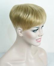 Starke Schönheit Toupet Perücke Synthetische Haar Toupets Haarausfall Top Stück Perücken 36 Farben Für Wählen