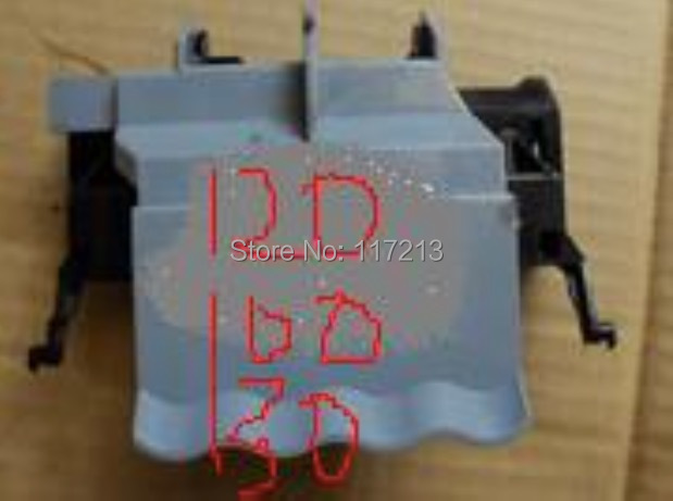ФОТО Original Carriage cover for HP 100PLUS 120 110 130 30 90R 70 carriage assembly cover C7796-60205 C7796-60022 C7796-67009