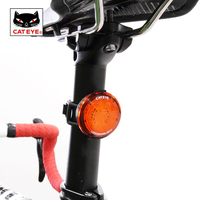 CATEYE Cycling MTB Bike Bicycle Laser Tail Rear Light LED USB Rechargeable Waterproof Seatpost Bag Warning Lamp Bike Accessories