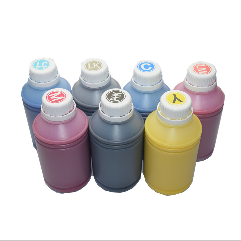 Good Printing Pigment Refill <font><b>Ink</b></font> for <font><b>Epson</b></font> Large Format 7600 <font><b>9600</b></font> Printer Refillable <font><b>Ink</b></font> Cartridges 500ml /Color image