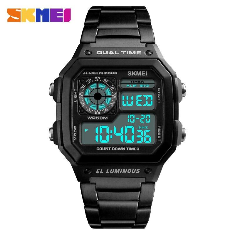 2018 superventas hombres relojes SKMEI reloj deportivo hombre reloj de lujo reloj de la marca Original reloj para hombre relojes del regalo de Diego nuevo