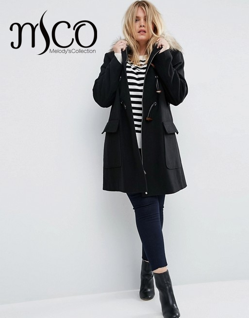 Popular Womens Duffle Coat with Fur Hood-Buy Cheap Womens Duffle