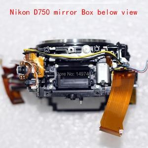 Image 4 - Nieuwe Spiegel Doos Assy Met Diafragma Groep En Sluiter Groep Reparatie Onderdelen Voor Nikon D750 Slr