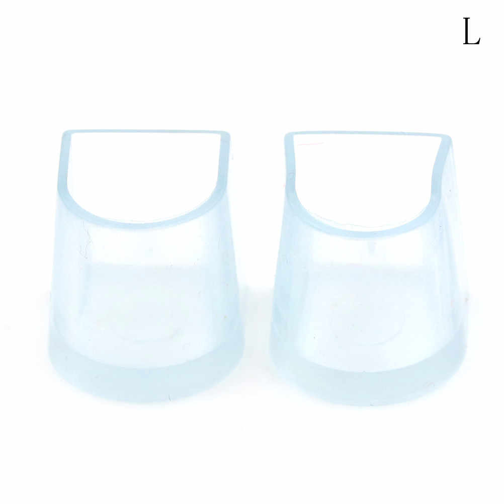 S/M/L латинские танцевальные туфли прозрачные бахилы покрытие для обуви Уход Жесткий ношение высокий Heeler Свадебные каблуки протекторы пробки