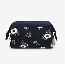 Korea New Fashion Women Cosmetic Bag Travel Wash Organizer Make up Bag Clear Zipper Case Fashion Handbag Ladies Pouch Necessaire