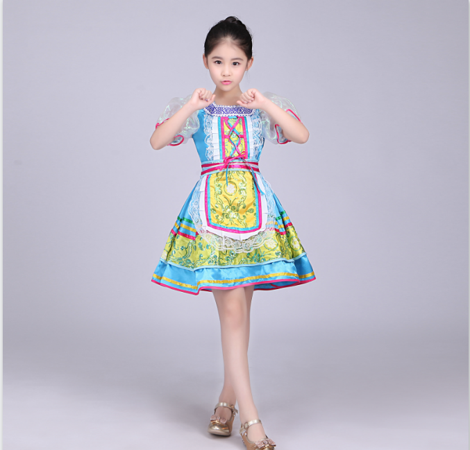 Russian Style Girls Red Traditional International Children s Day ... bf99e14b0