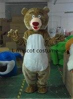 Adult Size ew Professional Big Bear Mascot Costume Fancy Dress Teddy bear mascot