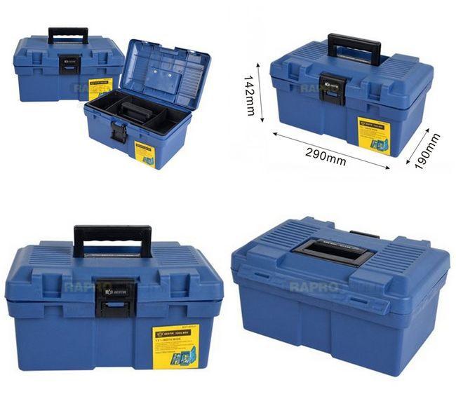 """BESTIR пластиковый ящик для инструментов Размер: 1"""" синий цвет Высокое качество ящик для инструментов чехол для инструментов, № 05121, скидка"""