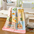 Home textiles Children cartoon Blanket Soft Warm Baby Blankets Newbron Super Soft Bedding Swaddle Blanket Portable Baby Product